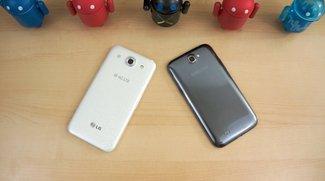 LG Optimus G Pro vs. Samsung Galaxy Note 2 - Vergleich der 5,5-Zoll-Giganten