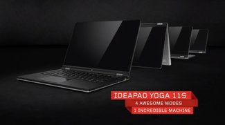 Lenovo Ideapad Yoga 11S ab sofort in Deutschland verfügbar