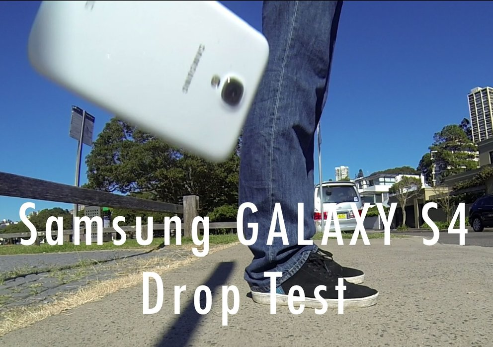 Samsung Galaxy S4 Drop Test
