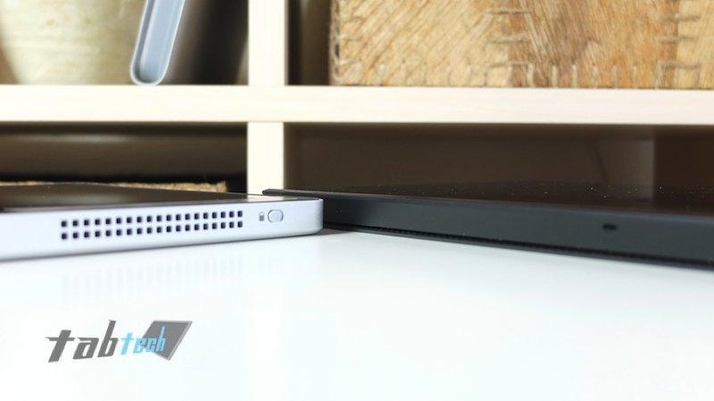 Surface Pro vs. W700 Lüfter