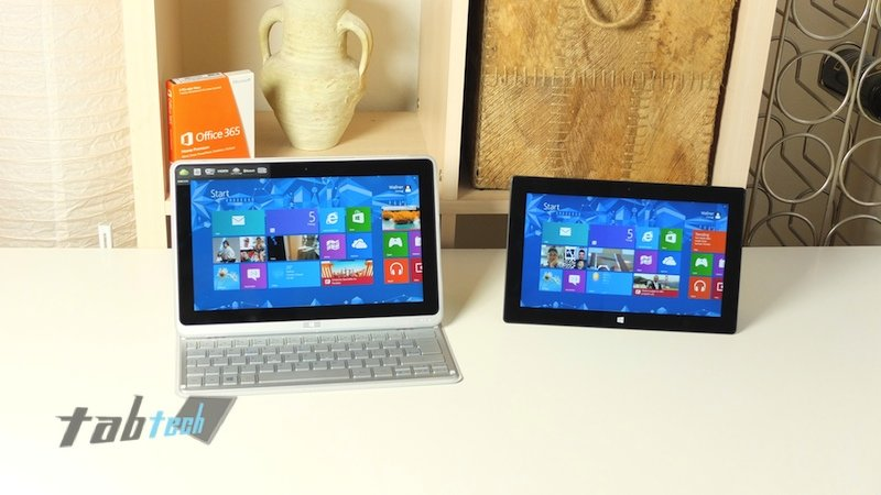 Microsoft Surface Pro vs. Acer Iconia Tab W700