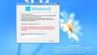 Windows Blue trägt den Namen Windows 8.1