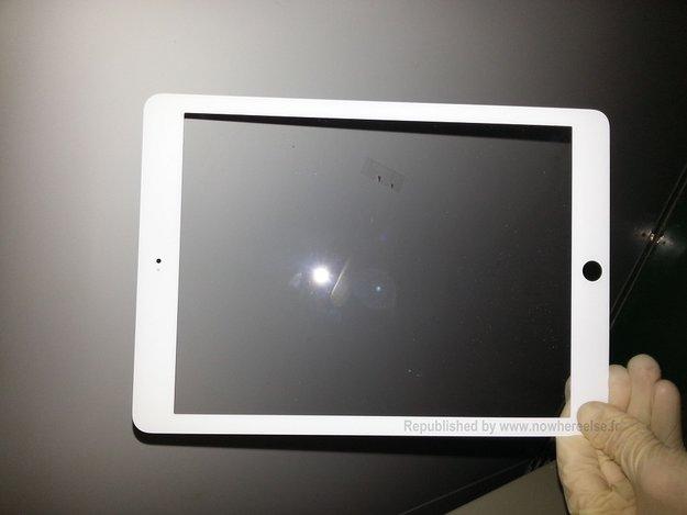 Apple iPad 5 Front zeigt sich auf ersten Fotos