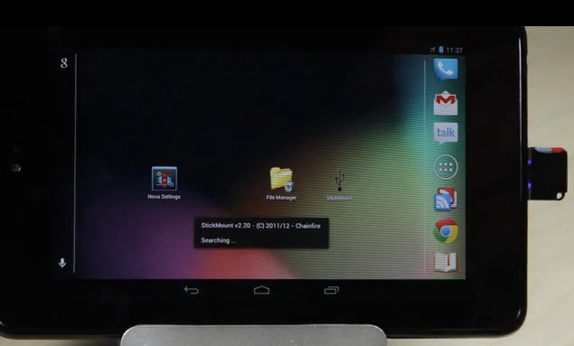 Kickstarter-Projekt: Mini MicroSD Reader für Android-Geräte
