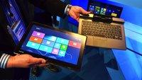 Toshiba Portege Z10t mit 10-Zoll-Display, Tastatur-Dock und Digitizer zeigt sich