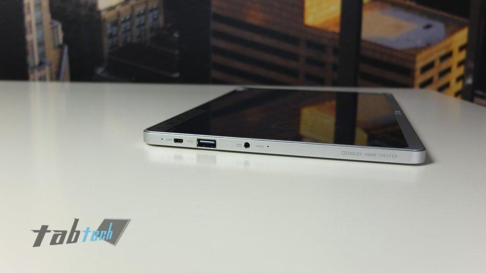 Acer Aspire P3 Anschlüsse