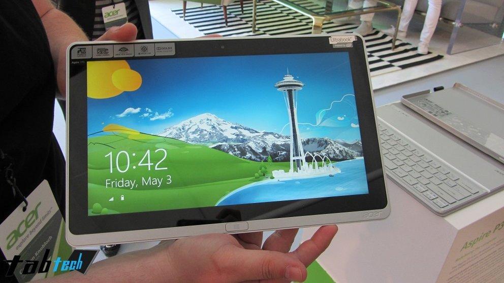 Acer Aspire P3 offiziell vorgestellt und in unserem Hands-On Video