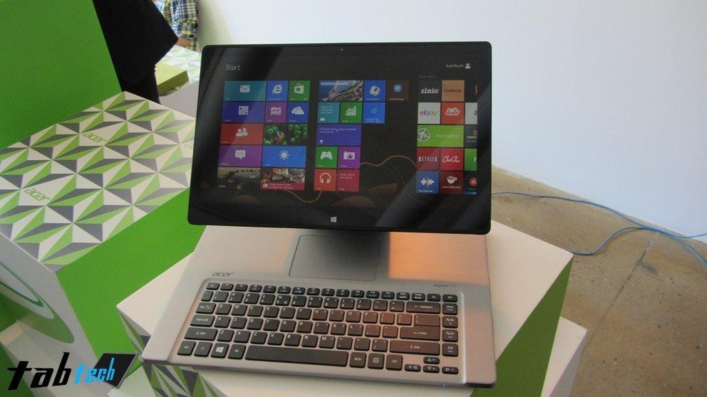 Acer Aspire R7 offiziell vorgestellt und in unserem Hands-On Video