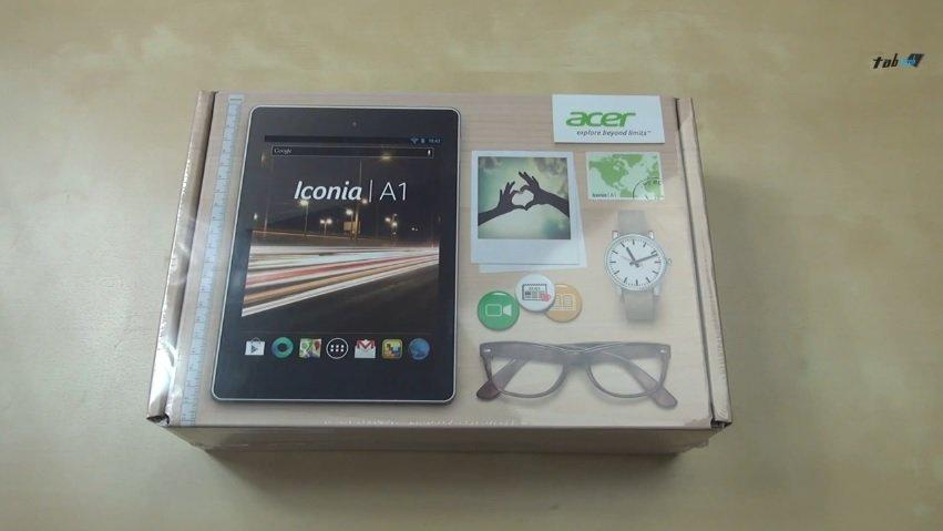 Acer Iconia A1: Unser Unboxing Video und der erste Eindruck