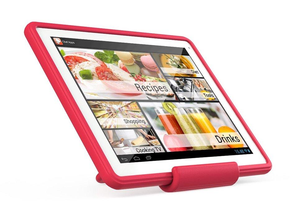 Archos ChefPad: 9,7-Zoll-Tablet mit Silikon-Hülle für Hobby-Köche