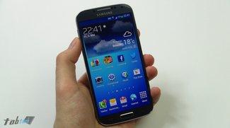 Screenshots zeigen Android 4.3 auf dem Galaxy S4