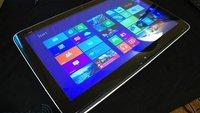 HP Envy Rove 20: 20-Zoll-Tablet mit Haswell CPU und Windows 8 vorgestellt