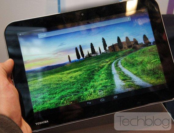 Toshiba AT10LE-A mit Nvidia Tegra 4 geleakt - Erste Bilder aufgetaucht