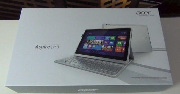 Acer Aspire P3 - Unboxing und erster Eindruck