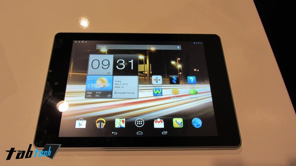 Acer Iconia A1 in unserem Hands-On Video