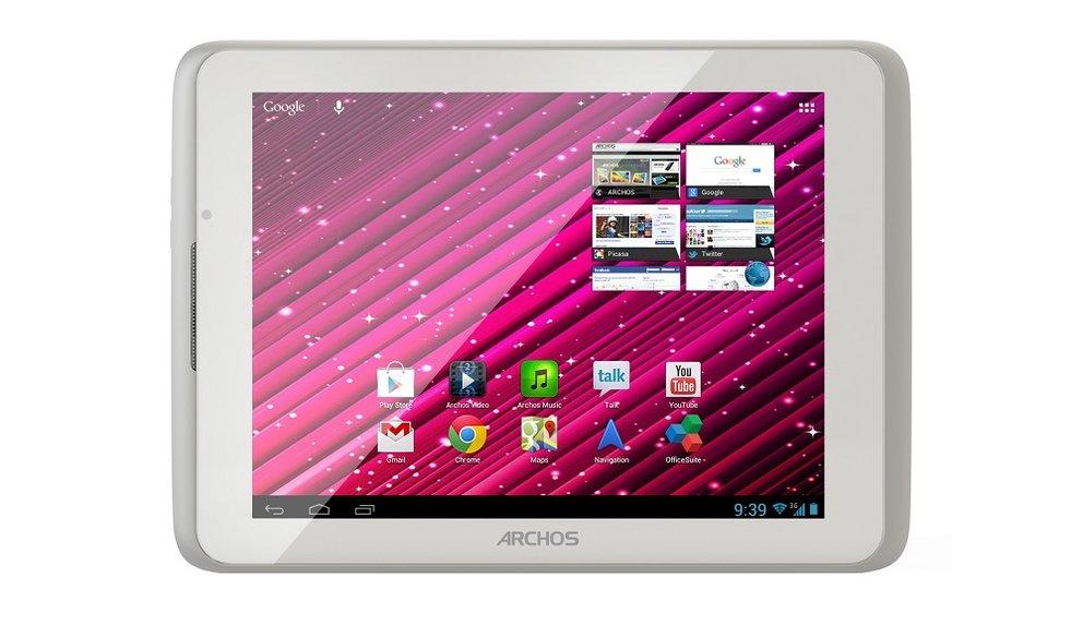 Archos: 50 Oxygen, 80 Xenon und 101 XS 2 Tablet im Hands-On