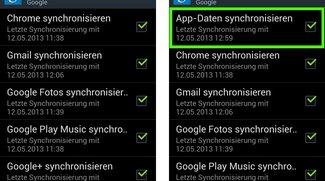 Google Play Services: App-Daten Synchronisation für Android entdeckt
