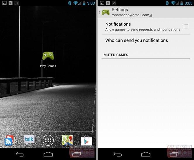 Google Play Games vor der offiziellen Präsentation geleakt