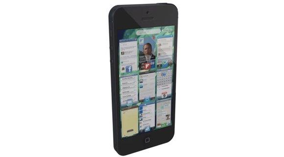 iOS 7: Multitasking-Konzept zeigt neuen App-Switcher