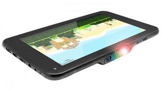 lumiTab: 7-Zoll-Tablet mit Android 4.2 und integriertem Projektor