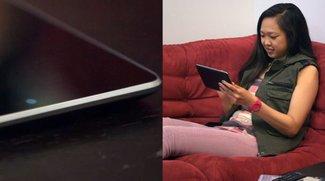 Neues Nexus 7 mit Benachrichtigungs-LED im Video?