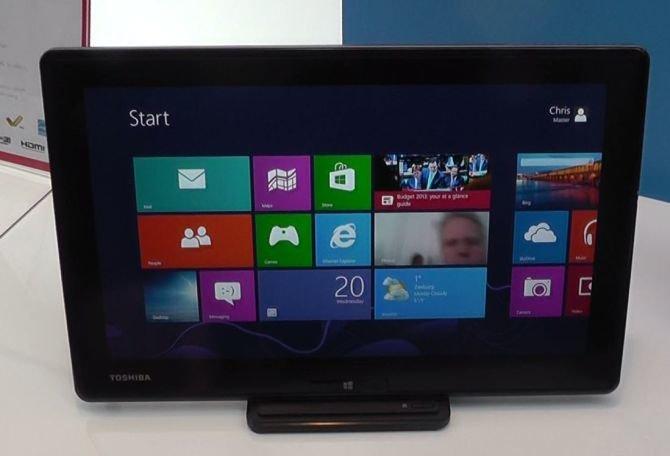 Toshiba WT310: Tablet mit 11,6 Zoll im deutschen Hands On