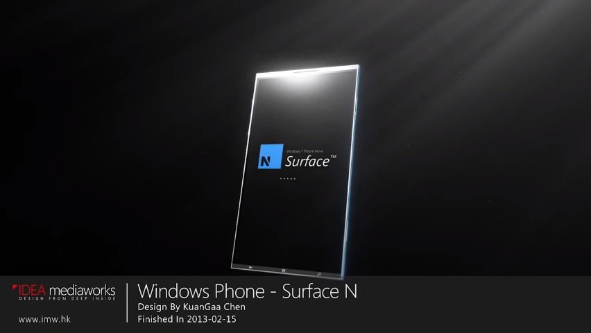 Windows Phone Surface-N: Beeindruckendes Smartphone-Konzept