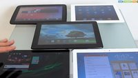 Video: Sony Xperia Tablet Z vs. iPad 4, Google Nexus 10, Padfone 2 und Samsung Galaxy Note 10.1