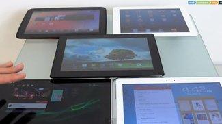 Video: Sony Xperia Tablet Z vs. iPad 4, Google Nexus 10, Padfone 2 und Samsung Galaxy Note 10.1