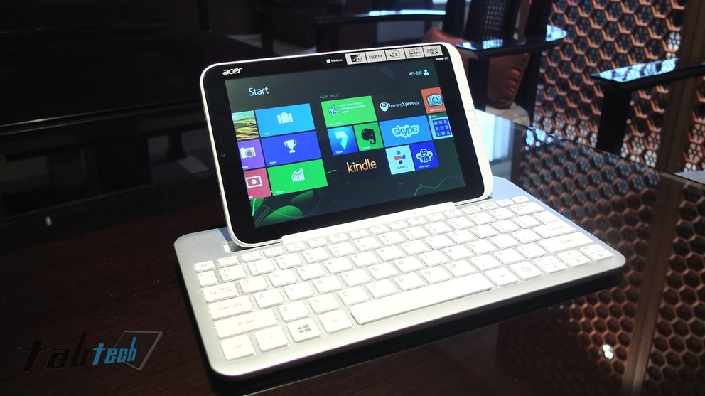 Acer Iconia W3 offiziell vorgestellt - Hands-On Video