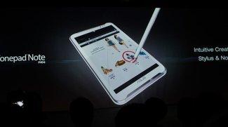 Asus FonePad Note FHD 6 mit Stylus offiziell vorgestellt