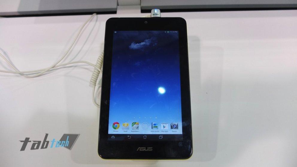 Asus MeMO Pad HD 7 - Bilder und Hands-On Video
