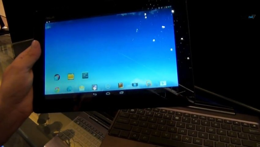 Asus Transformer Pad Infinity mit Tegra 4 in unserem Hands-On Video