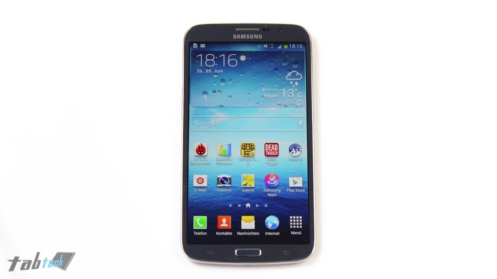 Samsung Galaxy Mega 6.3 Test