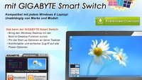 Gigabyte Smart Switch: Hol dir den Startknopf in Windows 8 zurück