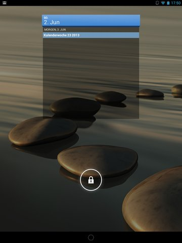 Iconia A1 Lockscreen