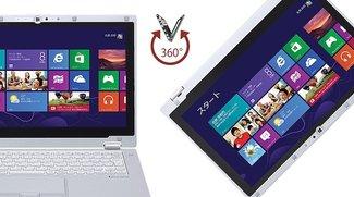 Panasonic AX3: Robustes Ultrabook mit umklappbarem Display und langer Laufzeit