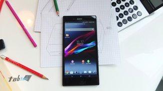 Sony Xperia Z Ultra in unserem Hands-On Video + Bilder