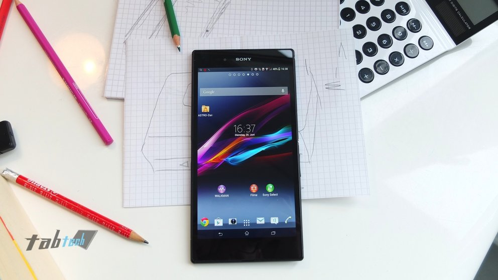 Sony Xperia Z Ultra in unserem Hands-On Video + Bilder