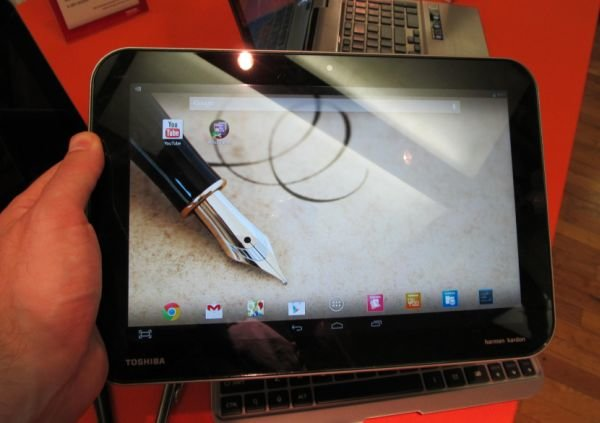 Toshiba eXcite Write im Video demonstriert