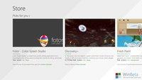 Windows 8.1: Neuer Windows Store zeigt sich auf ersten Screenshots