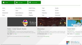 Microsoft führt Gutschein-Karten für den Windows Store ein
