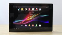 Sony Xperia Tablet Z Android 4.2.2 Jelly Bean Update wird ausgerollt