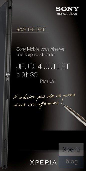 Sony Xperia Z Ultra mit 6,44 Zoll wird am 4. Juli vorgestellt