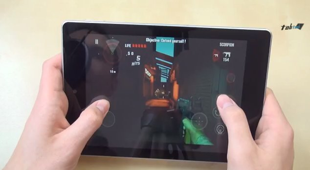 Acer Iconia A1 im Gaming-Test