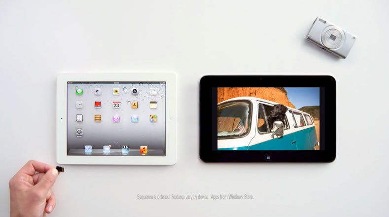 Video: Microsoft vergleicht Dell XPS 10 mit dem iPad