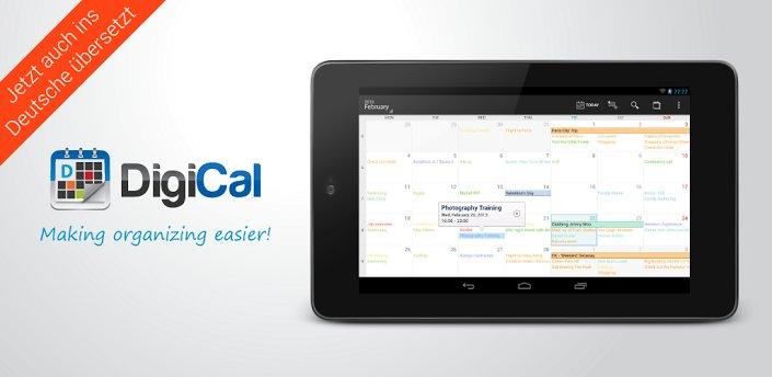 DigiCal: Die umfangreiche Kalender-App für Android