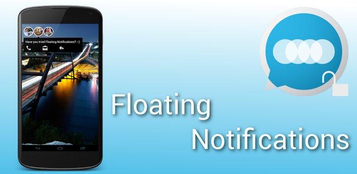 PopUp-Benachrichtigungen: Floating Notifications landen im Play Store