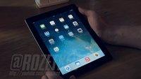 iOS 7 auf dem Apple iPad im Video demonstriert