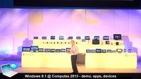 Microsoft Computex 2013 Event im Video - Windows 8.1, neue Apps und alle neuen Geräte